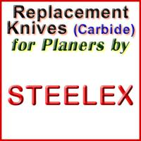 Replacement Carbide Knives for Planers by Steelex