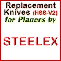 Replacement Blades (HSS) for Planers by Steelex