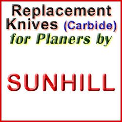Replacement Blades (Carbide) for Planers by Sunhill