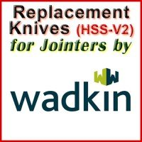 Replacement Blades (HSS) for Jointers by Wadkin Bursgreen