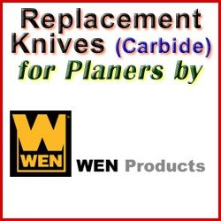 Replacement Blades (Carbide) for Jointers by WEN