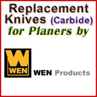 Replacement Blades (Carbide) for Planers by WEN
