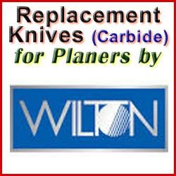 Replacement Blades (Carbide) for Planers by Wilton