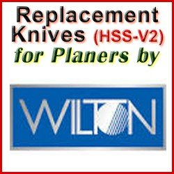 Replacement HSS-V2 Knives for Planers by Wilton