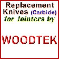 Replacement Blades (Carbide) for Jointers by Woodtek