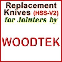 Replacement Blades (HSS) for Jointers by Woodtek