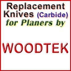 Replacement Blades (Carbide) for Planers by Woodtek
