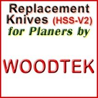Replacement HSS-V2 Knives for Planers by Woodtek