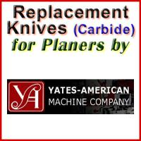 Replacement Blades (Carbide) for Planers by Yates