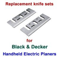Replacement HSS Blades for handheld planers by Black and Decker
