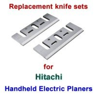Replacement HSS Knives for handheld electric planers by Hitachi
