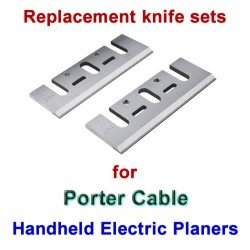 Replacement HSS Blades for handheld planers by Porter Cable