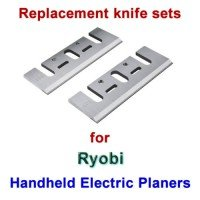 Replacement HSS Knives for handheld electric planers by Ryobi