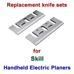 Replacement HSS Knives for handheld electric planers by Skill
