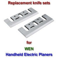 Replacement HSS Knives for handheld electric planers by WEN