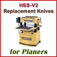 HSS Planer Knife Sets, sorted by Machine Manufacturer