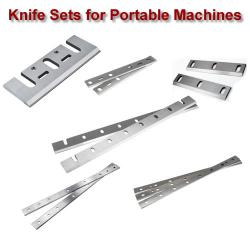 Portable Machine Knife Sets