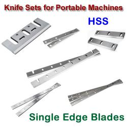Blade Sets with Single Sharp Edge (HSS)