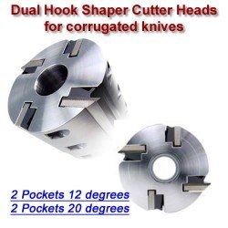 Dual Hook Shaper Heads
