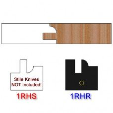 Rail Insert Knife Right Hand (RH) Profile #1 (Single Knife)