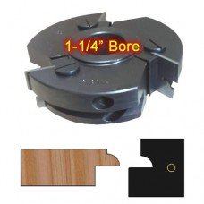 Right Hand (RH) Stile Cutter Head (Glass Doors) with 1-1/4