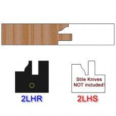 Rail Insert Knife Left Hand (LH) Profile #2 (Single Knife)