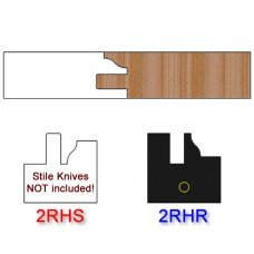 Rail Insert Knife Right Hand (RH) Profile #2 (Single Knife)