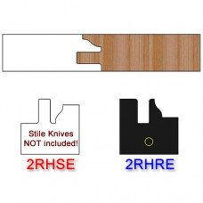Rail Insert Knife Right Hand (RH) Profile #2 (Eased Edges for Stain Relief)-(Single Knife)