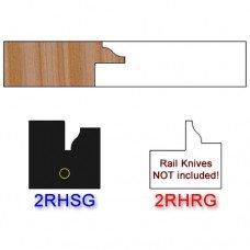 Stile Insert Knife Right Hand (RH) for Glass Doors Profile #2 (Single Knife)
