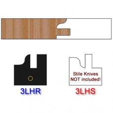 Rail Insert Knife Left Hand (LH) Profile #3 (Single Knife)