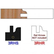 Stile Insert Knife Right Hand (RH) Profile #3 (Single Knife)