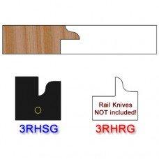 Stile Insert Knife Right Hand (RH) for Glass Doors Profile #3 (Single Knife)