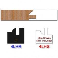 Rail Insert Knife Left Hand (LH) Profile #4 (Single Knife)