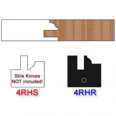 Rail Insert Knife Right Hand (RH) Profile #4 (Single Knife)
