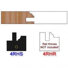 Stile Insert Knife Right Hand (RH) Profile #4 (Single Knife)