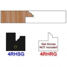Stile Insert Knife Right Hand (RH) for Glass Doors Profile #4 (Single Knife)
