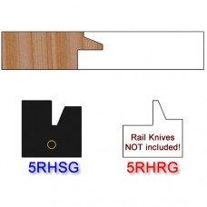 Stile Insert Knife Right Hand (RH) for Glass Doors Profile #50 (Single Knife)