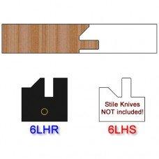 Rail Insert Knife Left Hand (LH) Profile #51 (Single Knife)