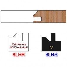 Stile Insert Knife Left Hand (LH) Profile #51 (Single Knife)