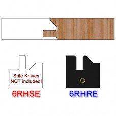 Rail Insert Knife Right Hand (RH) Profile #51 (Eased Edges for Stain Relief)-(Single Knife)