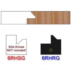 Rail Insert Knife Right Hand (RH) for Glass Doors Profile #51 (Single Knife)