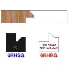 Stile Insert Knife Right Hand (RH) for Glass Doors Profile #51 (Single Knife)