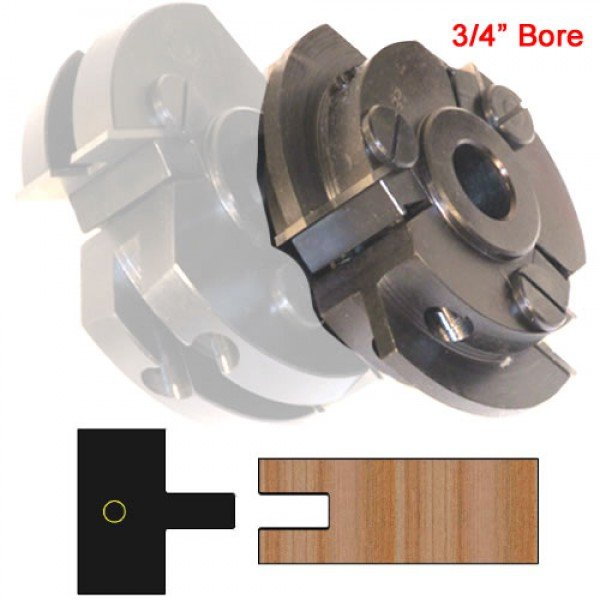 Centered Stile Cutter Head Shaker Style With 3 4 Quot Bore