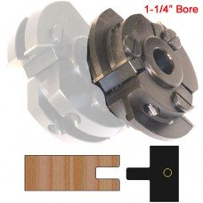 Centered Stile Cutter Head (Shaker Style) with 1-1/4