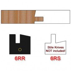 Rail Insert Knife Right Hand (RH) Profile #6 (Single Knife)