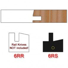 Stile Insert Knife Right Hand (RH) Profile #6 (Single Knife)