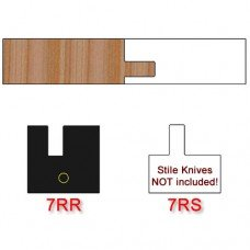 Rail Insert Knife Right Hand (RH) Profile #7 (Single Knife)