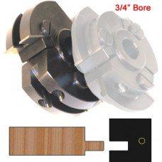 Right Hand (RH) Rail Cutter Head (Shaker Style) with 3/4