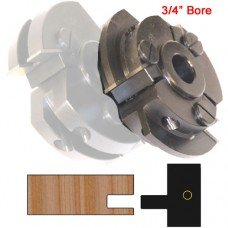 Right Hand (RH) Stile Cutter Head (Shaker Style) with 3/4