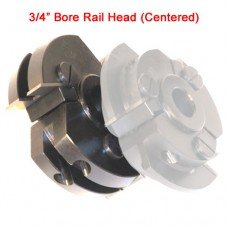 Centered Rail Cutter Head with 3/4